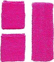 Widmann - Neon Schweißband, 3-teilig
