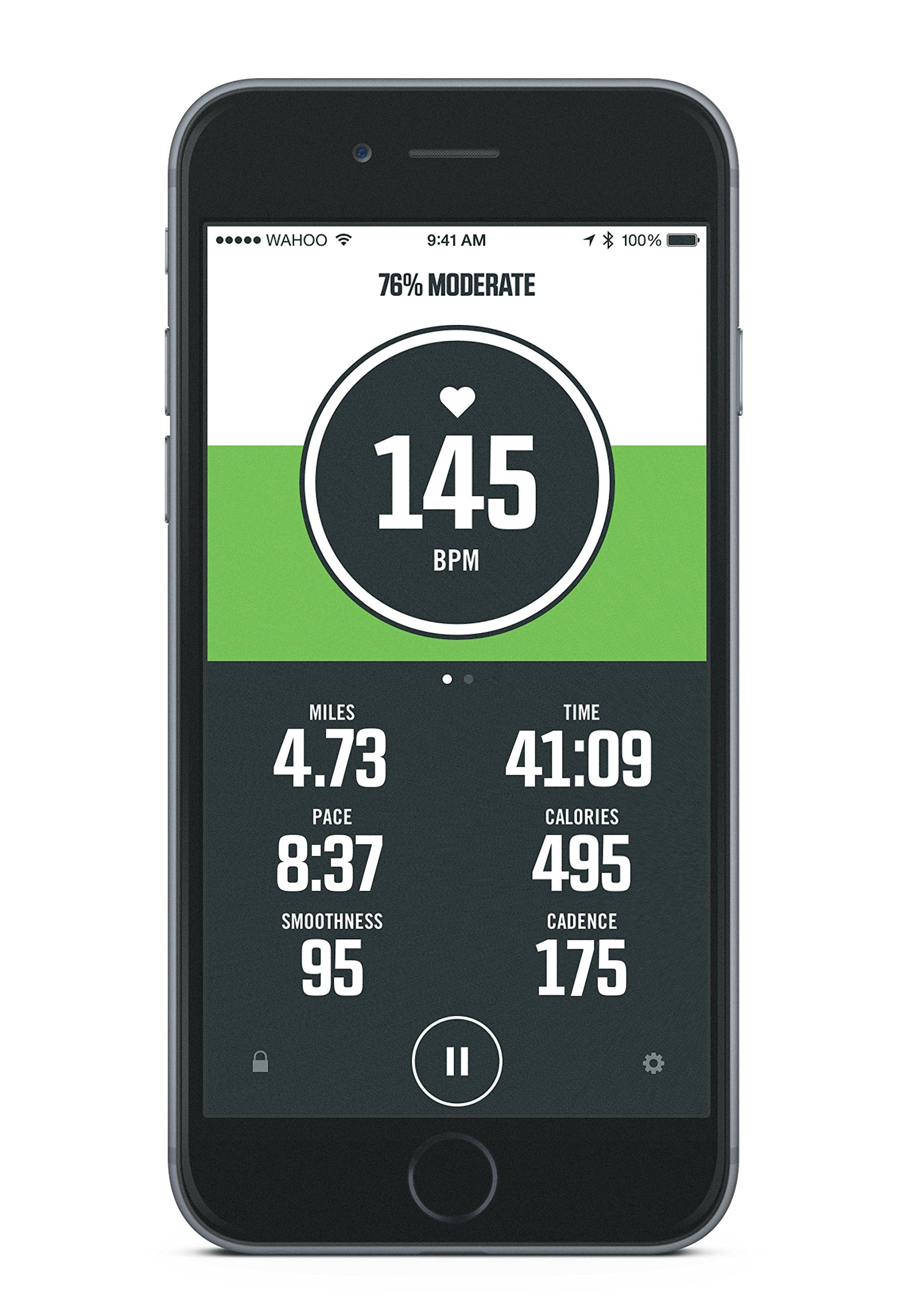 916tyjCCKdL - Wahoo TICKR Heart Rate Monitor, Bluetooth / ANT+