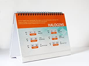 Periodic Table Elements Calender