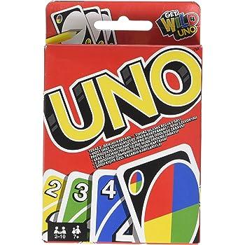 Mattel Games UNO Jeu de Société et de Cartes, W2087