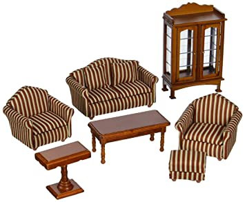 Buy Melissa U0026 Doug 2581 Doll House Furniture  Living Room Set Online At Low  Prices In India   Amazon.in Part 73