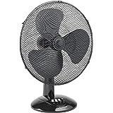Bestron DDF45Z Summer Breeze Ventilateur de table, Noir, Ø 45 cm