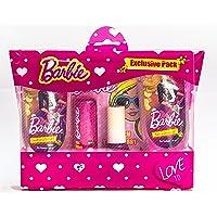 Barbie Exclusive Pack-(B&S.Gel-50ml+C.Shampoo-50ml+L.B+N.P)