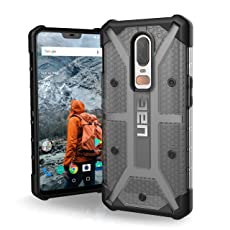 Urban Armor Gear UAG Plasma Feather-Light Rugged Military Drop Tested Case for OnePlus 6