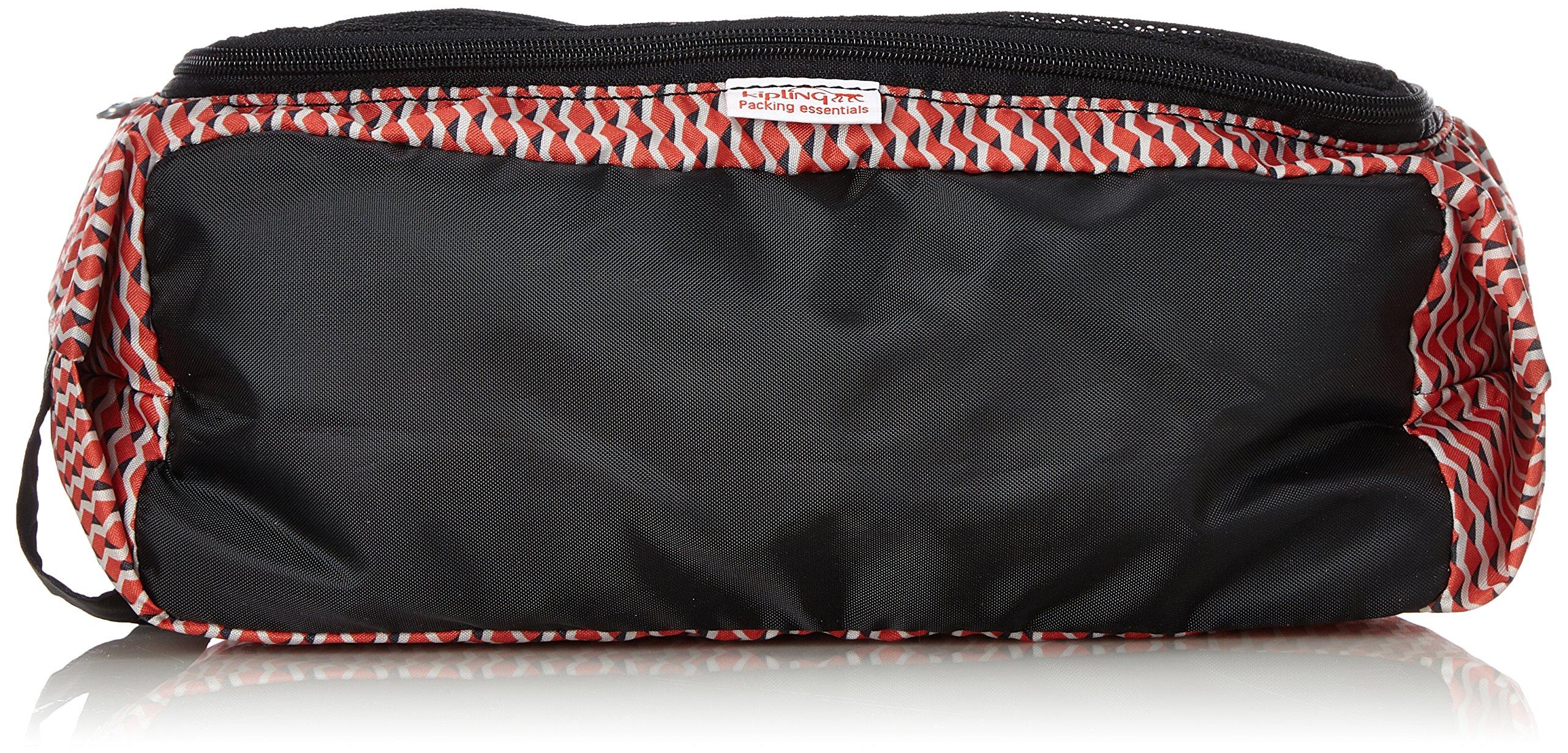 Kipling Wearable S Organizador para Maletas, 30 cm, 5 Liters, (Hybrid Geo Red)