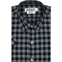Arihant GHPC Checkered Cotton Regular Fit Formal Shirt for Men