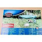 Trixie 6253 natura Freilaufgehege mit Schutznetz, verzinkt, ø 126 × 58 cm