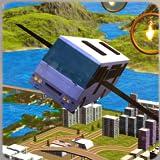 Fliegender Weltbus-Hügel-Antrieb