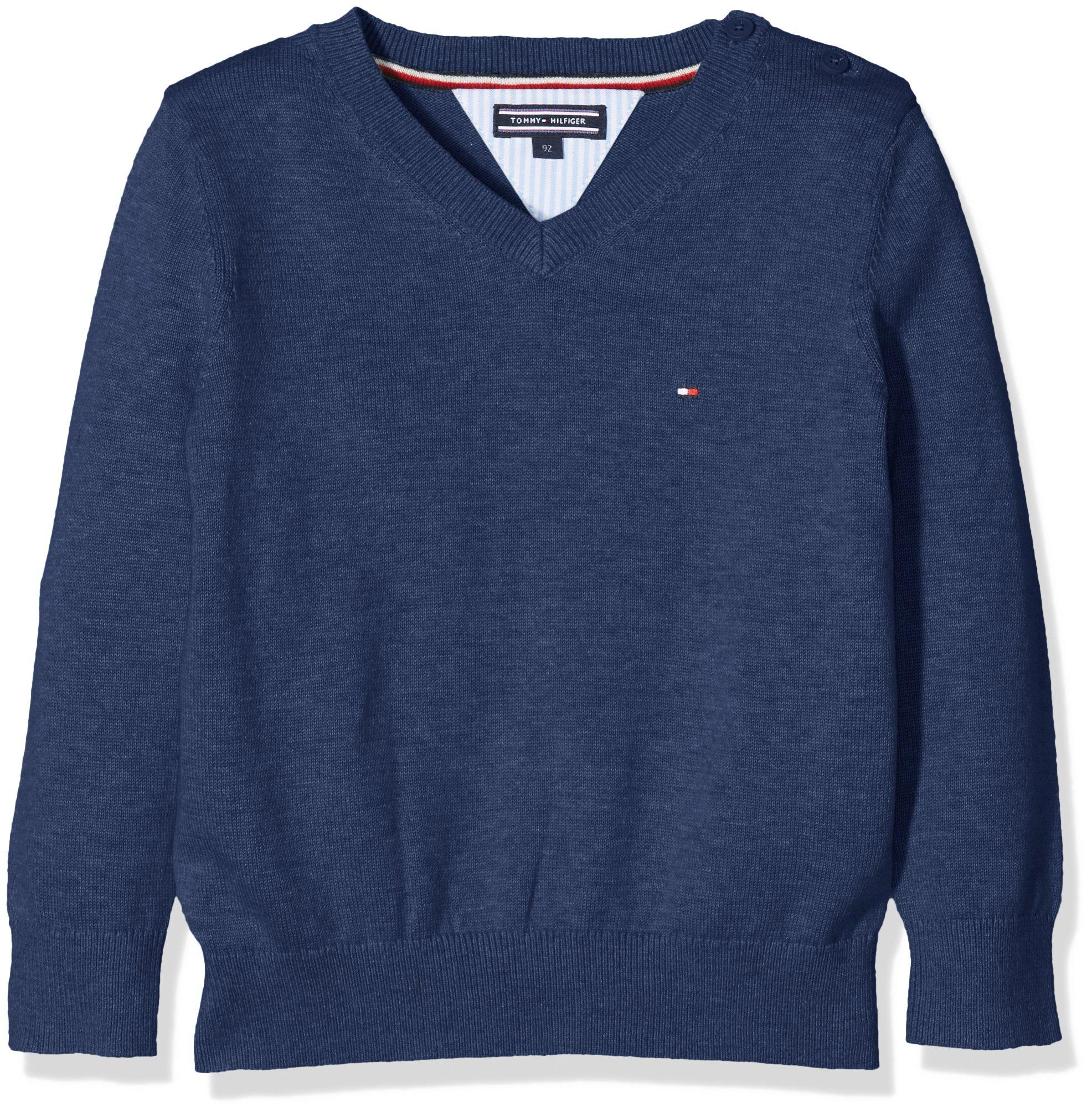 Tommy Hilfiger Ame Vn Sweater L/S suéter para Niños