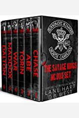 Savage Kings MC Box Set: Books 1-6 Kindle Edition