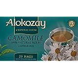 Alokozay Heat Seal Sachets Chamomile Tea Bags, 25 Bags (ART03684)