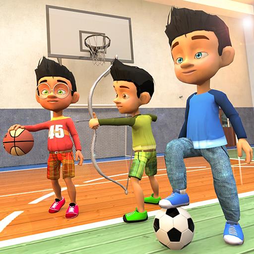 Schulsommer Leichtathletik-Meisterschaft: Neue Sportspiele Für Kinder 2019 (Sport-spiele Für Mädchen)