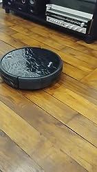auvily Robot aspirador 3 en 1 Independiente, Robot aspirador con sistema de limpieza fuerte, recarga auyomatique para los pelo de animales, moquetas y ...