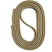 SNORS gewachste Schnürsenkel RUND 18 Farben 45-150cm, 2-3mm, reißfest, Rundsenkel aus Baumwolle Made in Germany für…