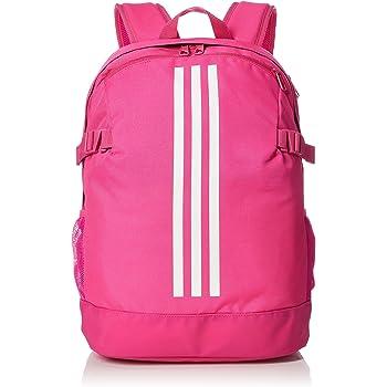 0ffefec4d adidas Unisex's 3-Stripes Power IV M Backpack, Shock Pink/White, 16 ...