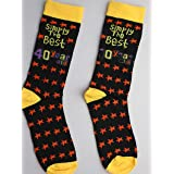 SHATCHI One Size Simply The Best 40 Year Old Gift Novelty Socks for 40Th Birthday Christmas