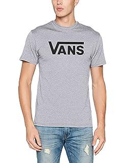 Vans Herren Classic T Shirt, Blau (Navywhite), Large