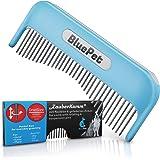 Bluepet® Kattenkam toverkam voor lang haar - verwijdert knopen - hondenkam - ook als kattenborstel te gebruiken - borstel voo