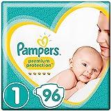 Pampers Premium Protection New Baby Größe1, 2–5kg, 96Windeln