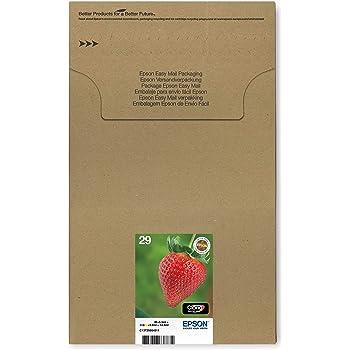 Epson Original T2986 Erdbeere, Claria Home Tinte, Text- und Fotodruck (Multipack, 4-farbig) (CYMK)