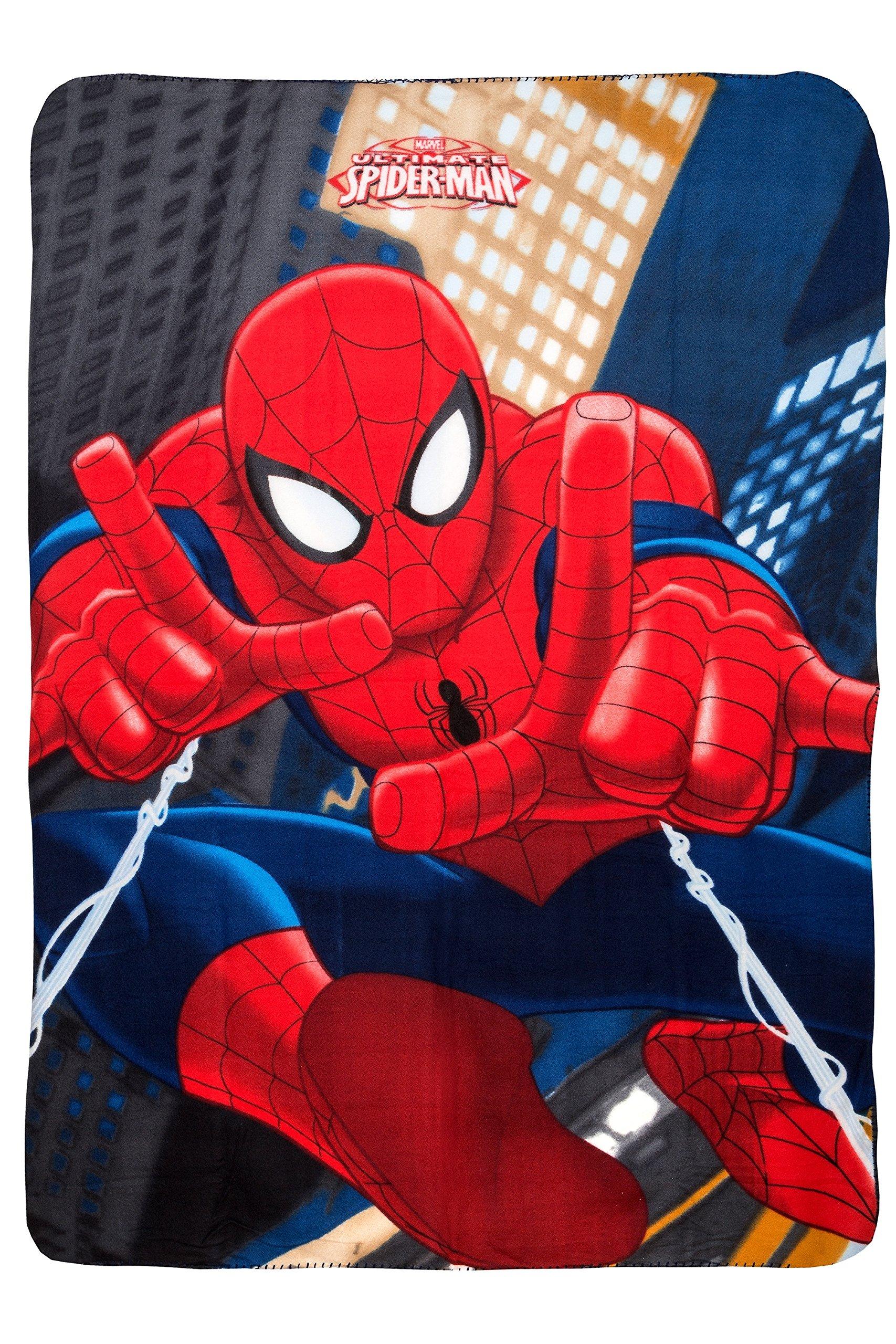 'Marvel Spiderman Ultimate Spider-Man���Coperta in pile, 100�x 140�cm, prodotto con licenza origi