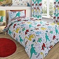 Single Bed Cotton Rich Dinosaur Duvet Set
