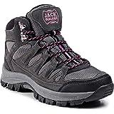 Jack Walker Women's Waterproof Hiking Boots Lightweight High Rise Trekking Walking Shoes JW1005