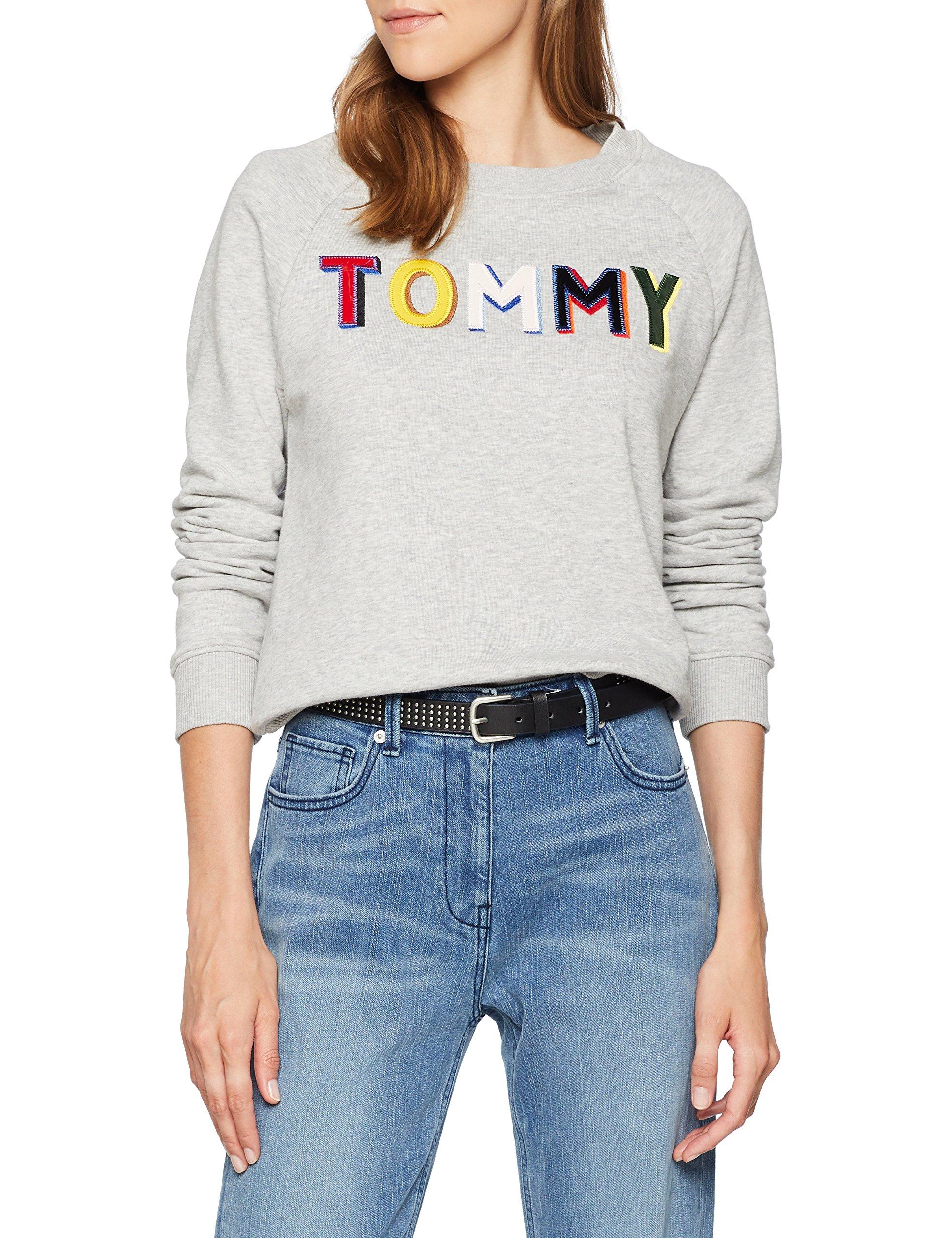 Tommy Hilfiger Francesca C-nk Sweatshirt LS Sudadera para Mujer