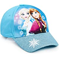 2-8 Years Summer Sun Hat Disney Original Frozen 2 Princess Girls Adjustable Baseball Caps Hats Satin Fabric