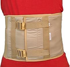 Wonder Care Elastic Abdominal Belt Binder Maternity Tummy Waist Trimmer for Weight Loss (Large)