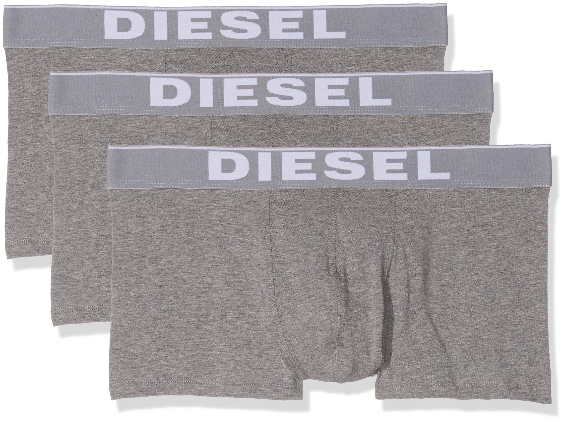 Diesel 00cky3-0ntga, Boxer Uomo, Grigio (Grey), XX-Large