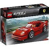 LEGO 75890 SpeedChampions FerrariF40Competizione, Set de Construction, Véhicules Jouets pour Enfants, modèle de Pack d'ext