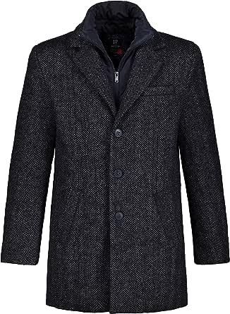 JP 1880 Men's Wollmantel Fischgrat Coat