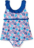 Playshoes Mädchen Einteiler Badeanzug mit Rock Veilchen mit Uv-Schutz