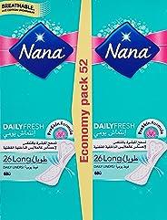 Nana Nana Pantyliner Economy Pack, Pack of 52