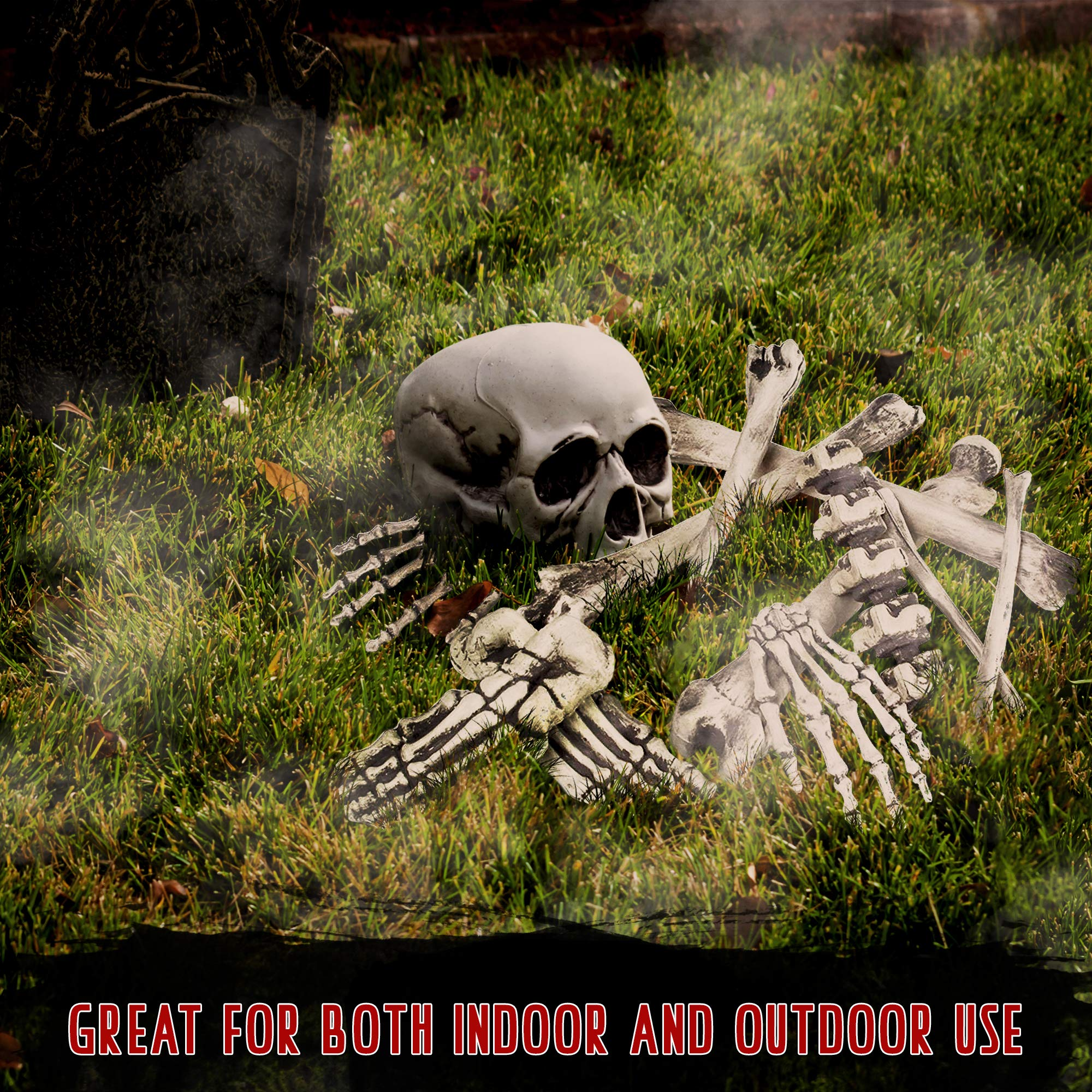 THE TWIDDLERS Halloween Saisonale Dekoration Tasche mit 25 gruseligen Knochen - Perfekt für Halloween Party deko Feiern…