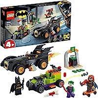 LEGO DC Batman vs. Joker: Inseguimento con la Batmobile, Set Macchina dei Supereroi per Bambini dai 4 anni in su, 76180