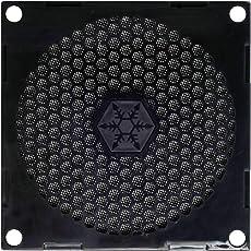 Silverstone 80mm Fan Filter with Grill FF81B (Black)