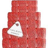Casa Haus Eternity - Algodón Air Twist 600 gsm - Juego de Toallas de 6 Piezas - 2 Toallas de baño, 2 Toallas de Mano 2 paños,