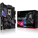 ASUS ROG Strix Z490-E Gaming - Placa Base Gaming ATX Intel de 10a Gen LGA 1200 con VRM de 16 Fases, WiFi 6, LAN 2.5 Gigabit,