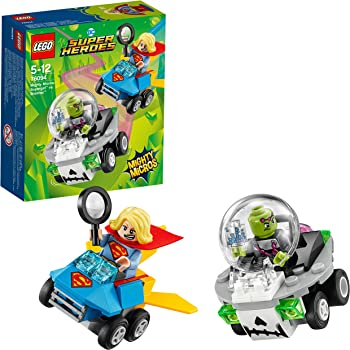 LEGO Super Heroes Mighty Micros: SuperGirl Contro Brainiac, 76094