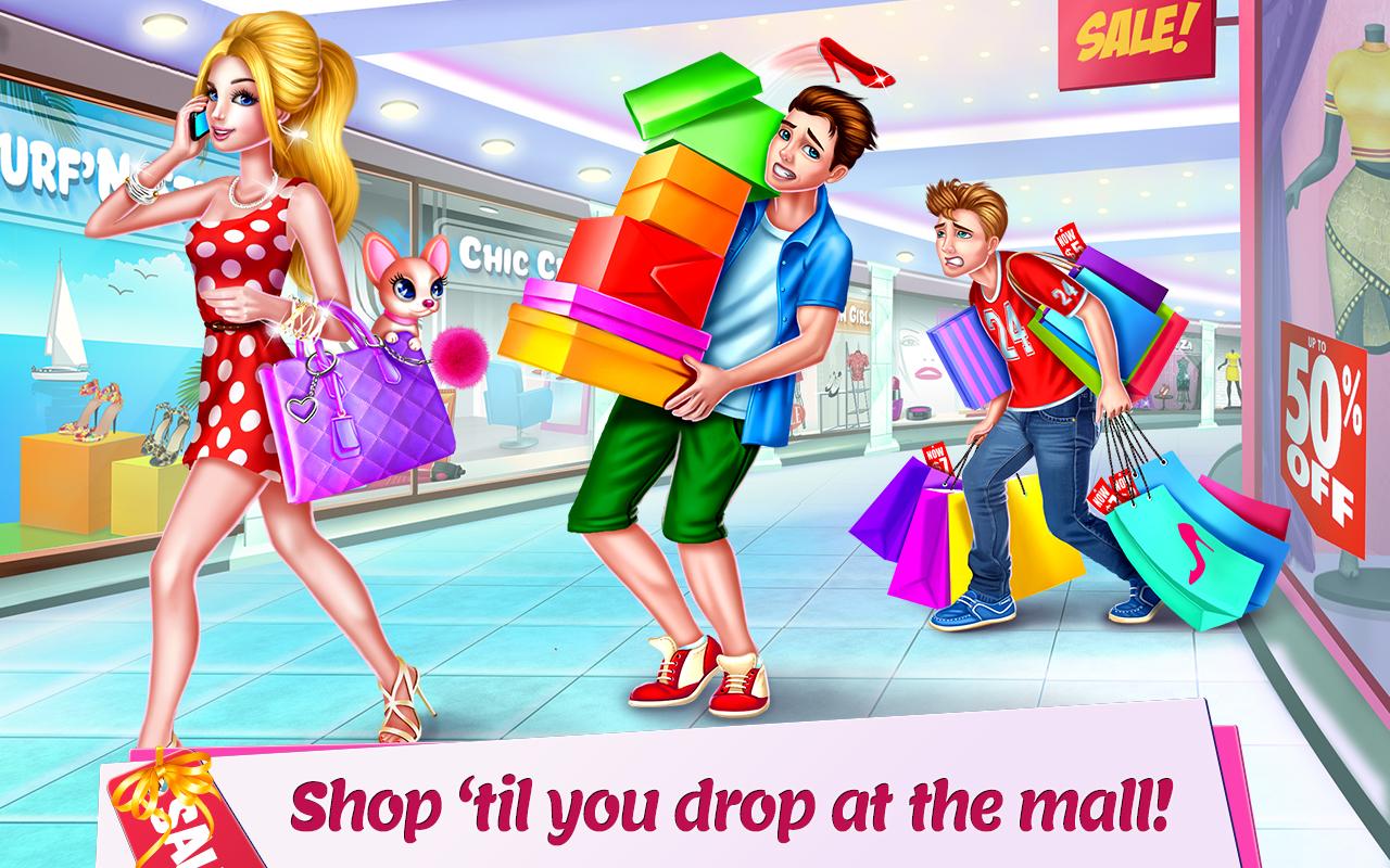 Shopping Mall Girl - Dress Up & Style Game: Amazon.co.uk