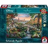 Schmidt Spiele- Thomas Kinkade Disney Puzzle 101 Dalmatiens 1000 pièces, 59489, coloré