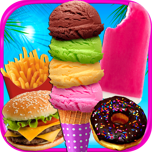 School Lunch Food Maker - Kids Cooking Games FREE (Snow Cone Maker Free)