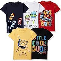 T2F Boy's Regular fit T-Shirt