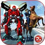 US-Polizei Roboter Pferd Transformation: Polizei Kampfspiele