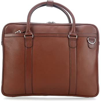 c250cf6f Tiger of Sweden Lucha Briefcase 15? brown: Amazon.co.uk: Luggage