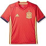 adidas Jungen Fußball/Heim-Trikot UEFA Euro 2016 Spanien Replica