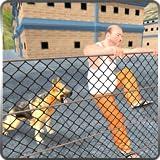 Le crime de gangster de ville de Vegas dans la mission de survie d'évasion de prison: Attaque de chien de police dans la prison d'évasion Jeu gratuit 2018...