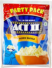 Act II Instant Golden Sizzle Popcorn, 150g